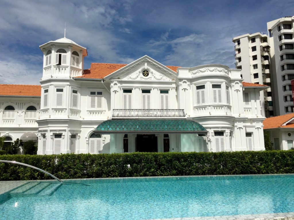 Facade Day - Macalister Mansion - Food For Thought