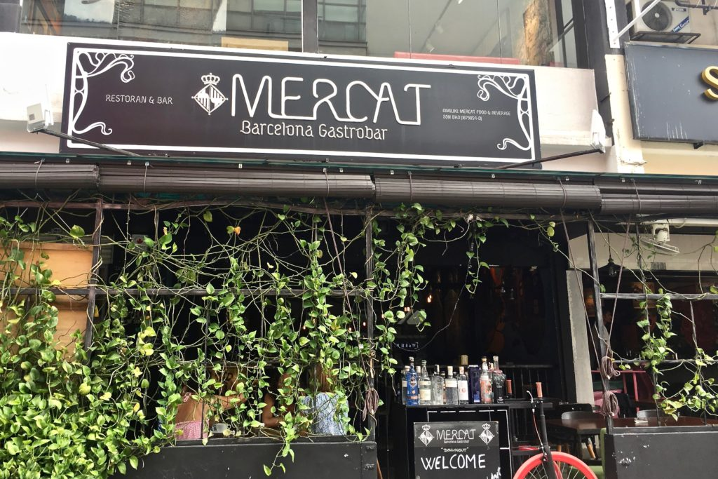 Facade | Mercat Barcelona Gastrobar | Food For Thought