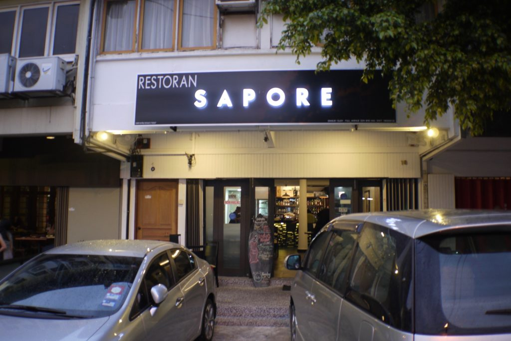 Facade | Sapore | Food For Thought
