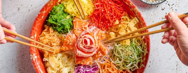 The Very Malaysian Origin Of The Yee Sang