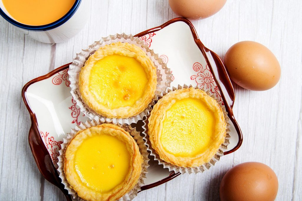 Flaky Skin Egg Tarts   Dough You Know The Difference Malaysian Pastries   Food For Thought