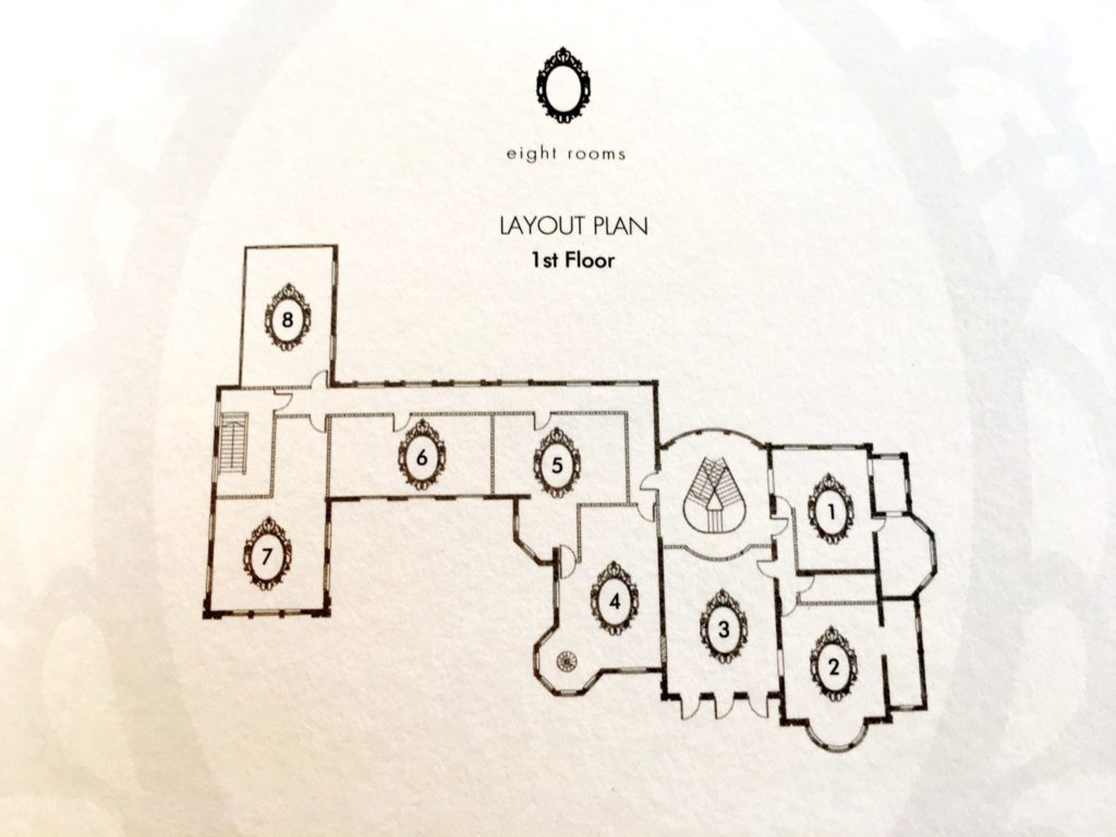 Floor Plan - Macalister Mansion - Food For Thought