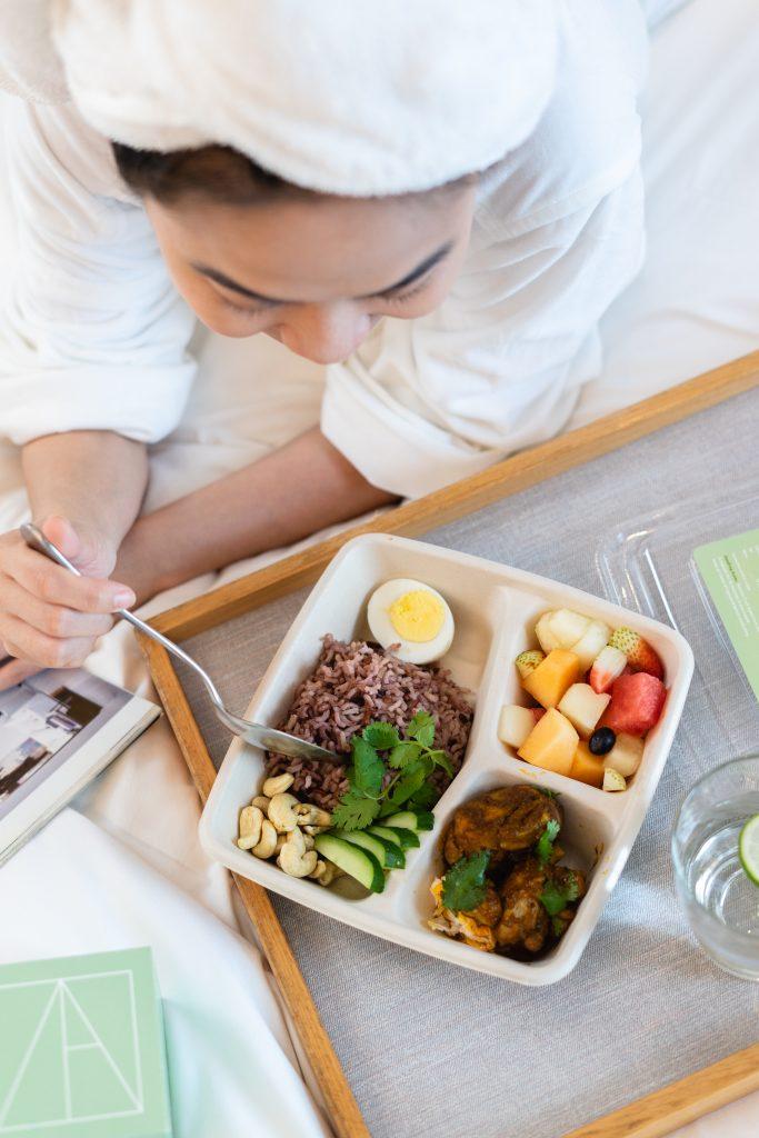 Five Grain Nasi Lemak Chicken Rendang 2 - TAF Meals | TAF Meals | Food For Thought