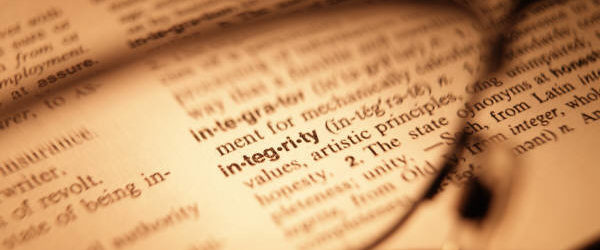 Integrity: Keeping To Your Word