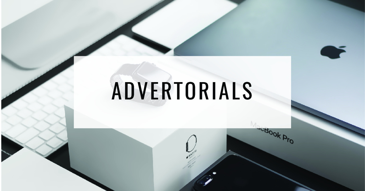 Advertorials Title Card - Food For Thought