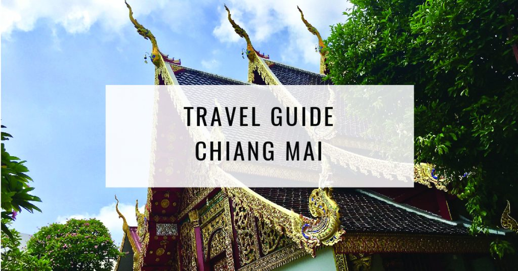 Travel Guide- Chiang mai Title Card