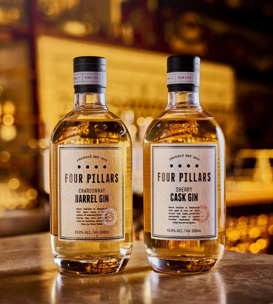Four Pillars Chardonnay Gin and Four Pillars Sherry Cask Gin | Four Pillars Gin