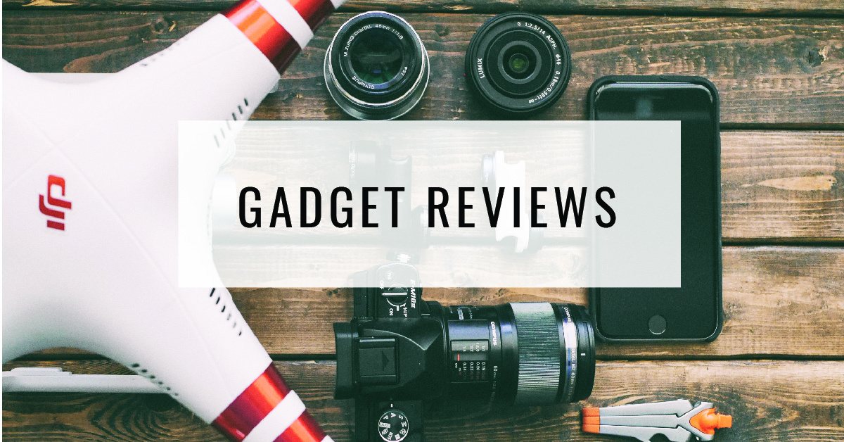 Gadget Reviews Title Card | Food For Thought