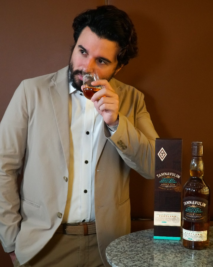 George Schulze of Tamnavulin Distillery   Tamnavulin Distillery   Food For Thought