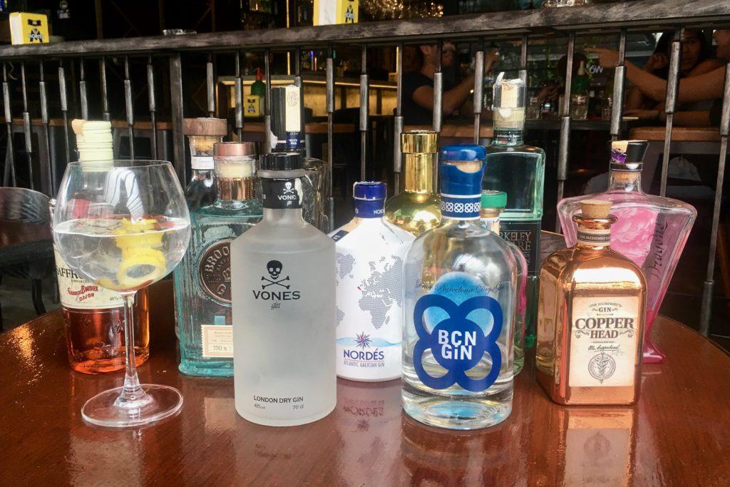 Gin Bar | Mercat Barcelona Gastrobar | Food For Thought