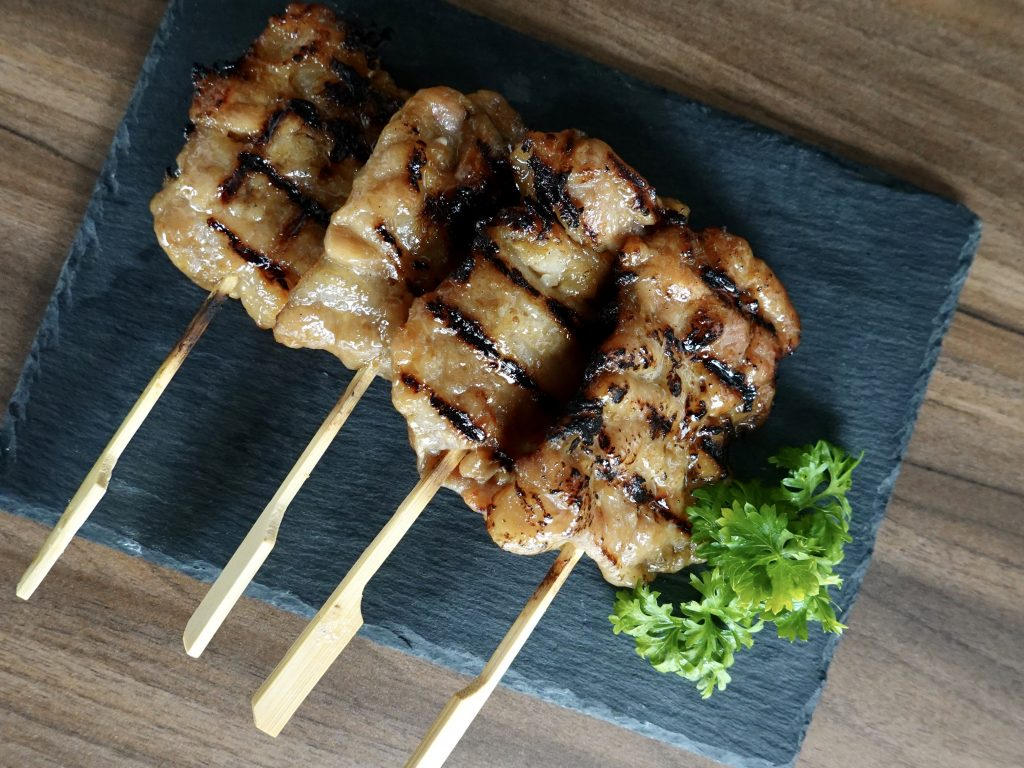 Grilled Pork Skewers | Meat & Sea KL | Food For Thought