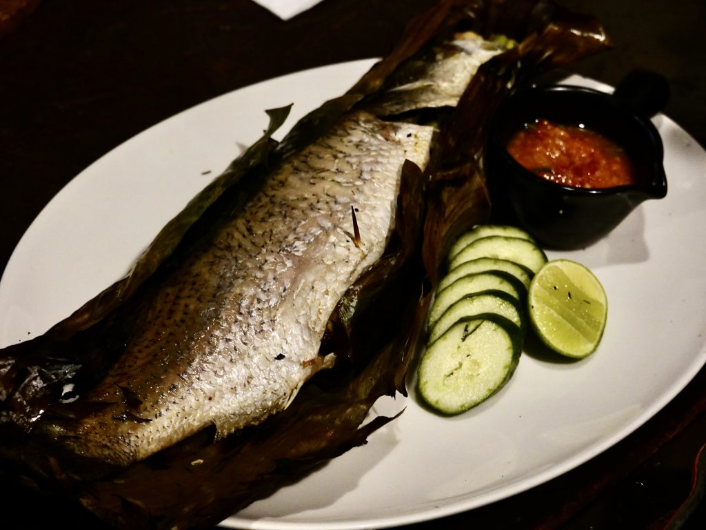 Grilled Thai-Style Seabass | Meat & Sea KL | Food For Thought