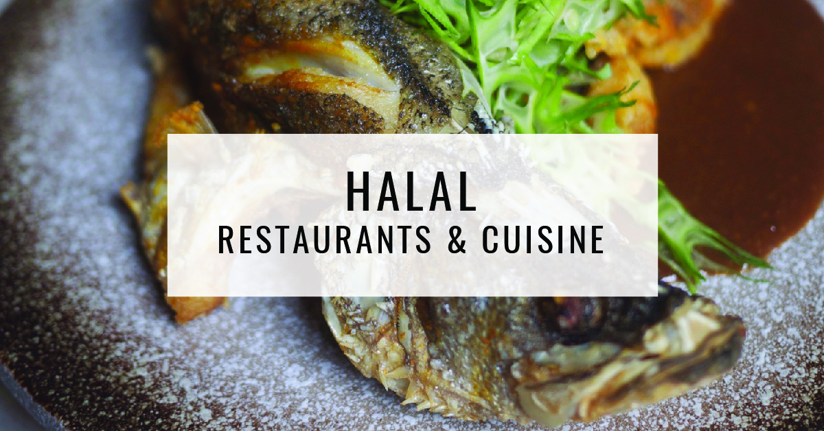 Halal Restaurants & Cuisine Title Card | Food For Thought