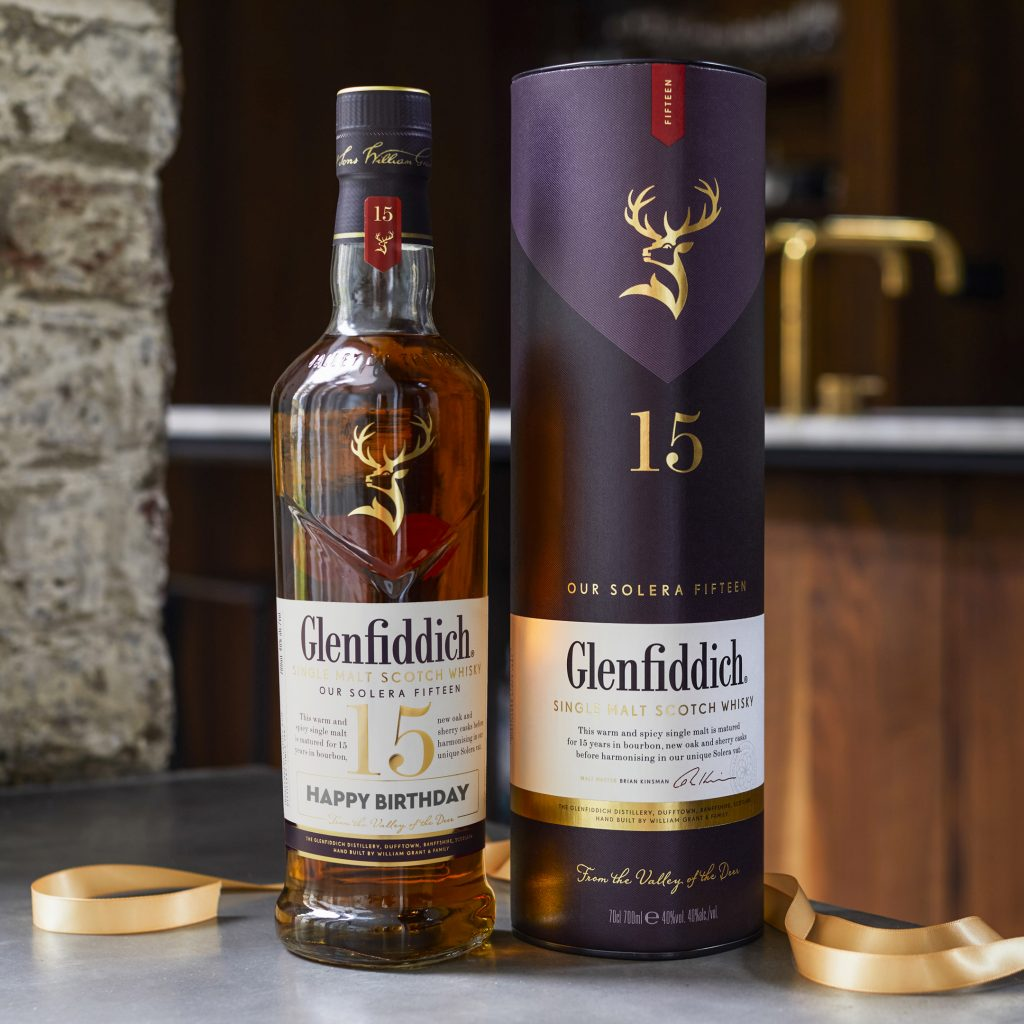 Happy Birthday | Glenfiddich Personalised Label | Food For Thought