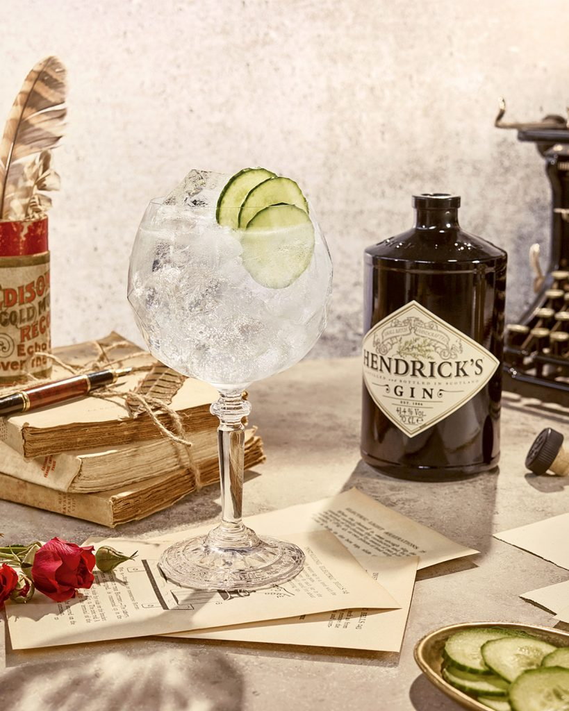 Hendrick's Gin & Tonic Baloon Glass | World Cucumber Day | Charmaine Thio of Hendrick's Gin | Food For Thought