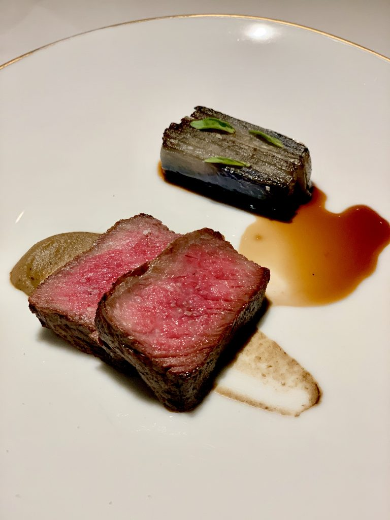Hida Wagyu with Aubergine and Garum | DC Seasonal May 2020 Menu | DC Restaurant | Food For Thought