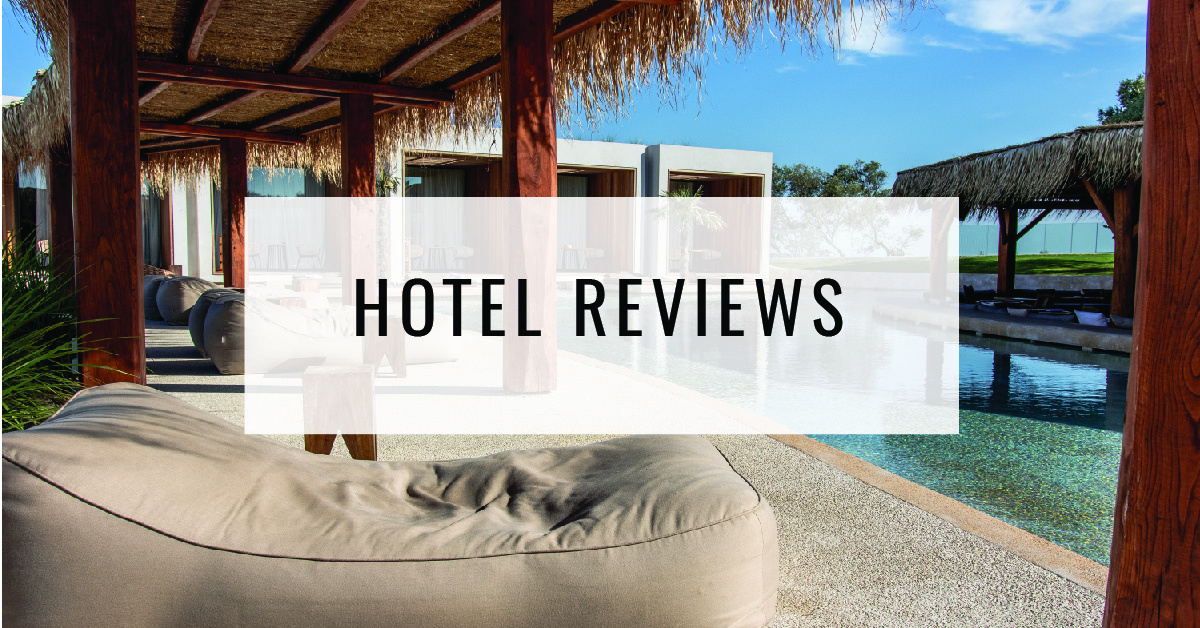 Hotel Reviews Title Card - Food For Thought
