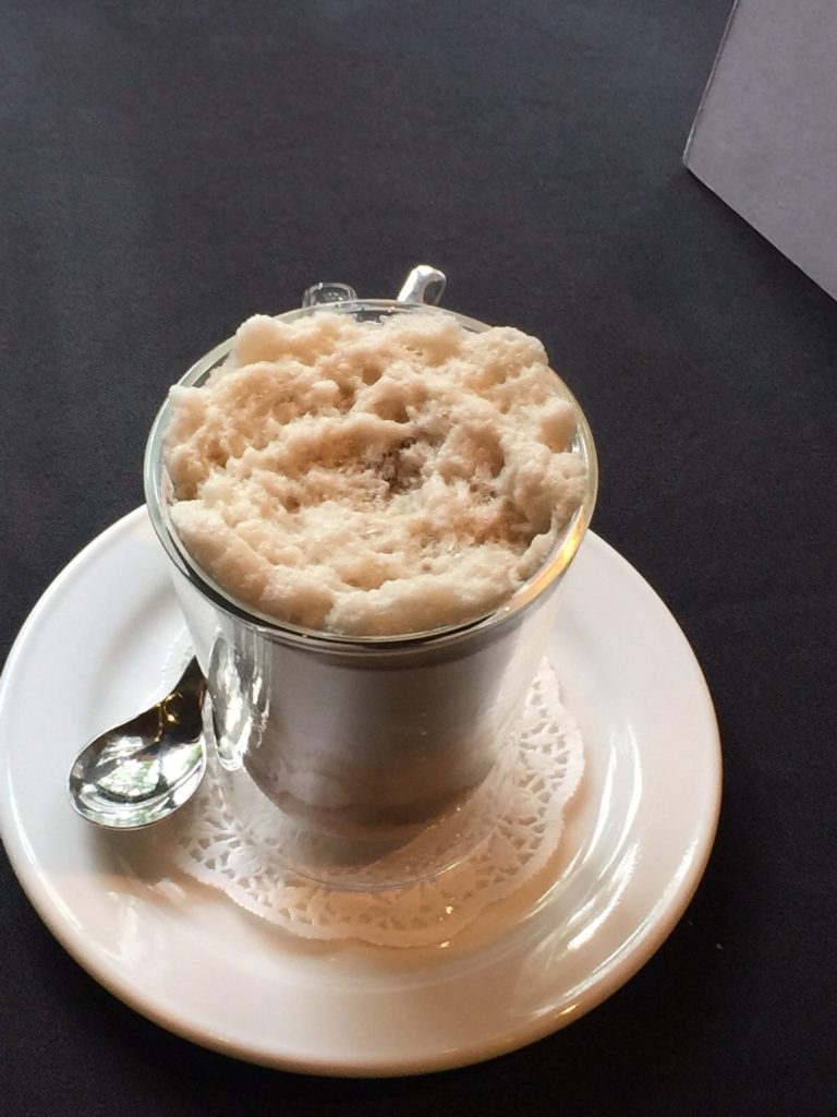 Cappucinno Mushroom Soup - The Fine Dining - Food For Thought
