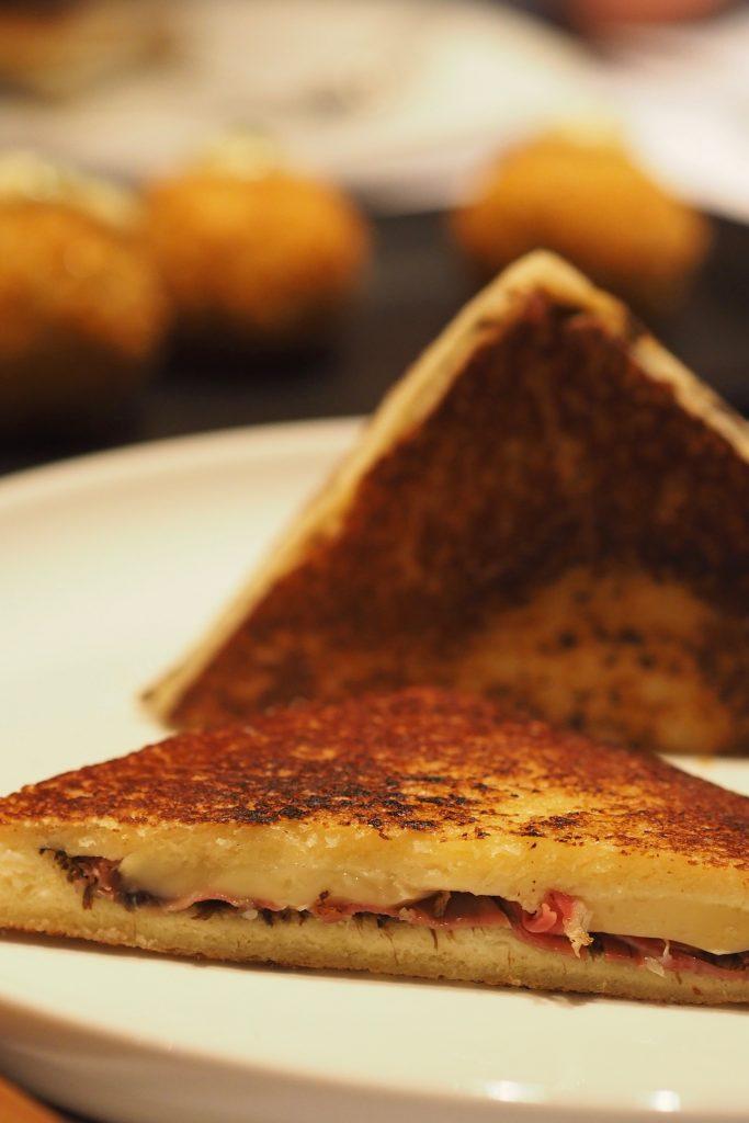 Iberico Bikini Sandwich | Leonardo's Dining Room & Wine Loft | Food For Thought