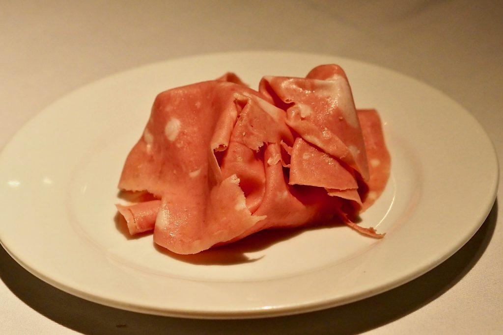 Iberico Mortadella | Leonardo's Dining Room & Wine Loft | Food For Thought