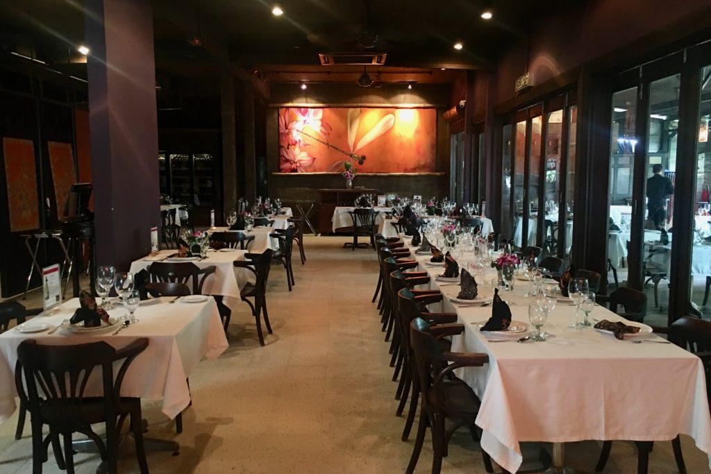 Inside Dining | Bijan Restaurant | Bijan Bar | Food For Thought