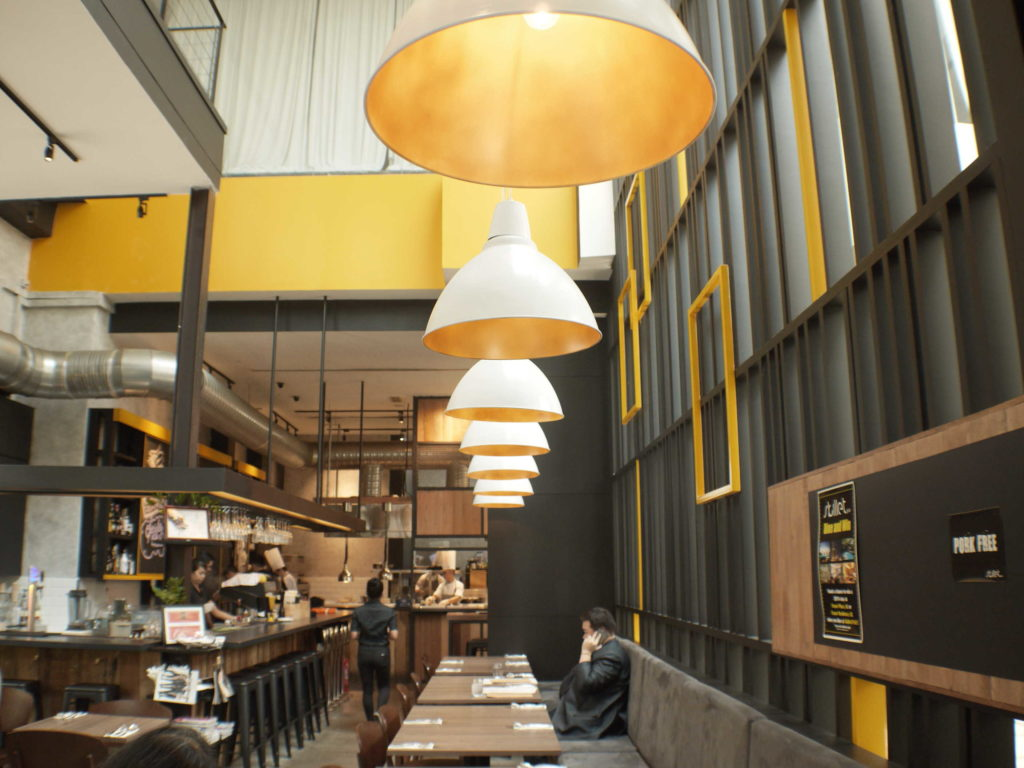 Interior Downstairs | Skillet at 163 | Food For Thought