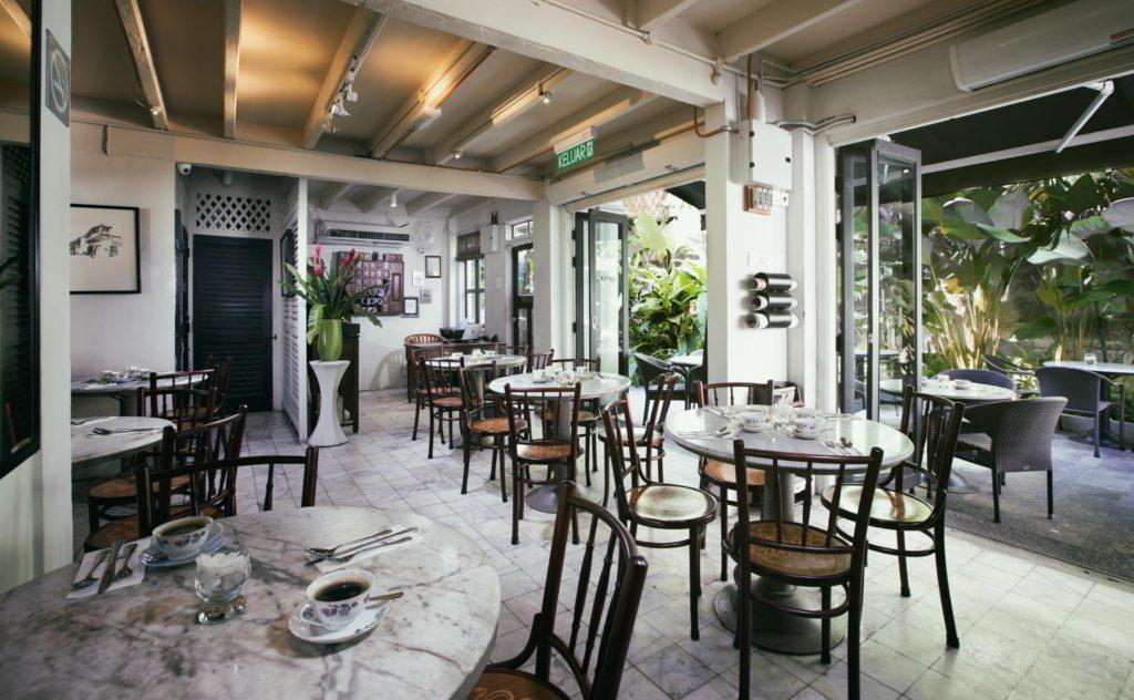 Interior | Mews Cafe | Muntri Mews | Muntri Residence | Food For Thought