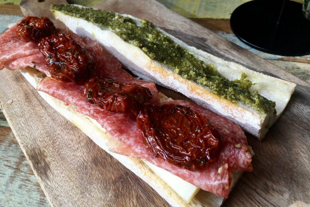 Italiano Sandwich | Bottega Medditerreana | Food For Thought