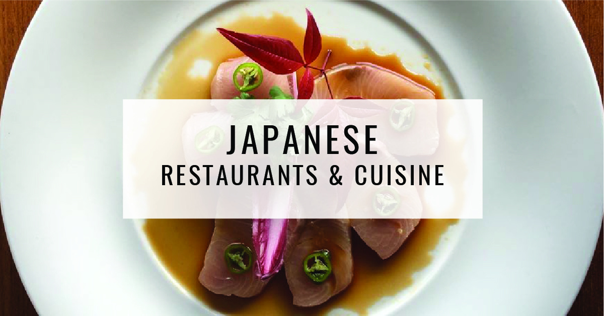 Japanese Restaurants & Cuisine Title Card | Food For Thought