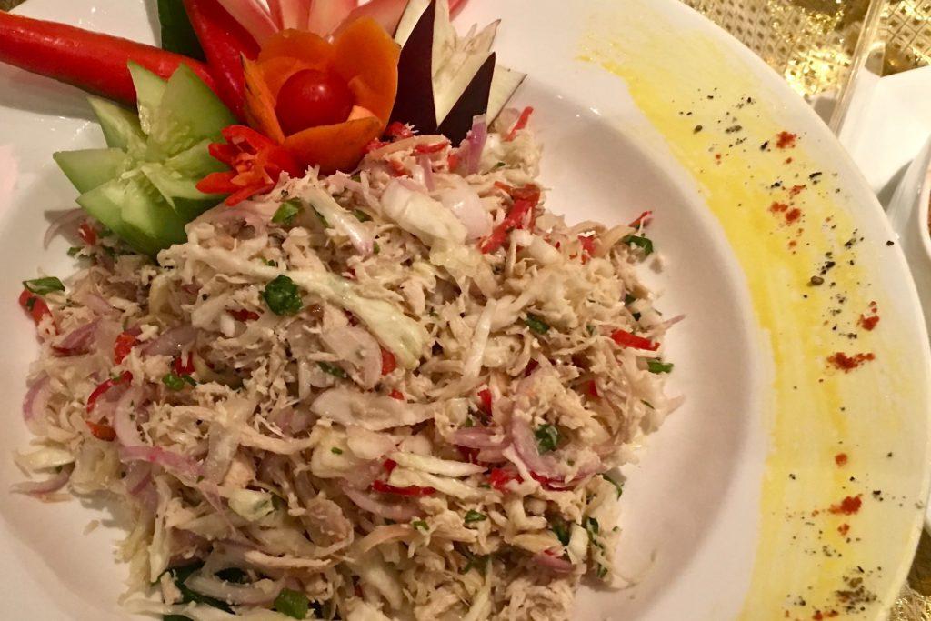 Kerabu Ayam Bunga Kantan   Enak   Buffet Ramadan 2017   Food For Thought