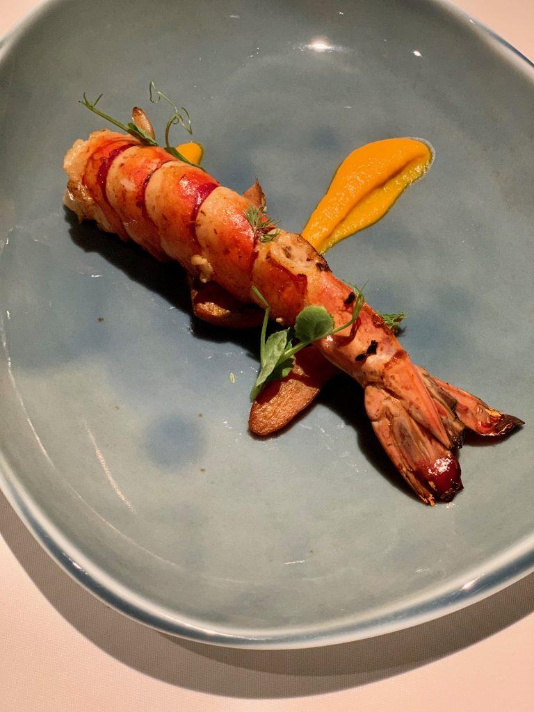 King Sea-Tiger Prawn with Harissa   DC Seasonal May 2020 Menu   DC Restaurant   Food For Thought
