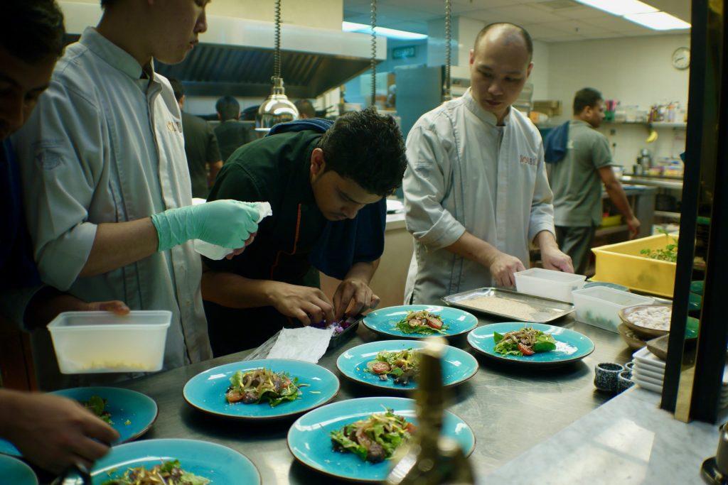 Kitchen Service | Soleil's Chef's Table | Soleil