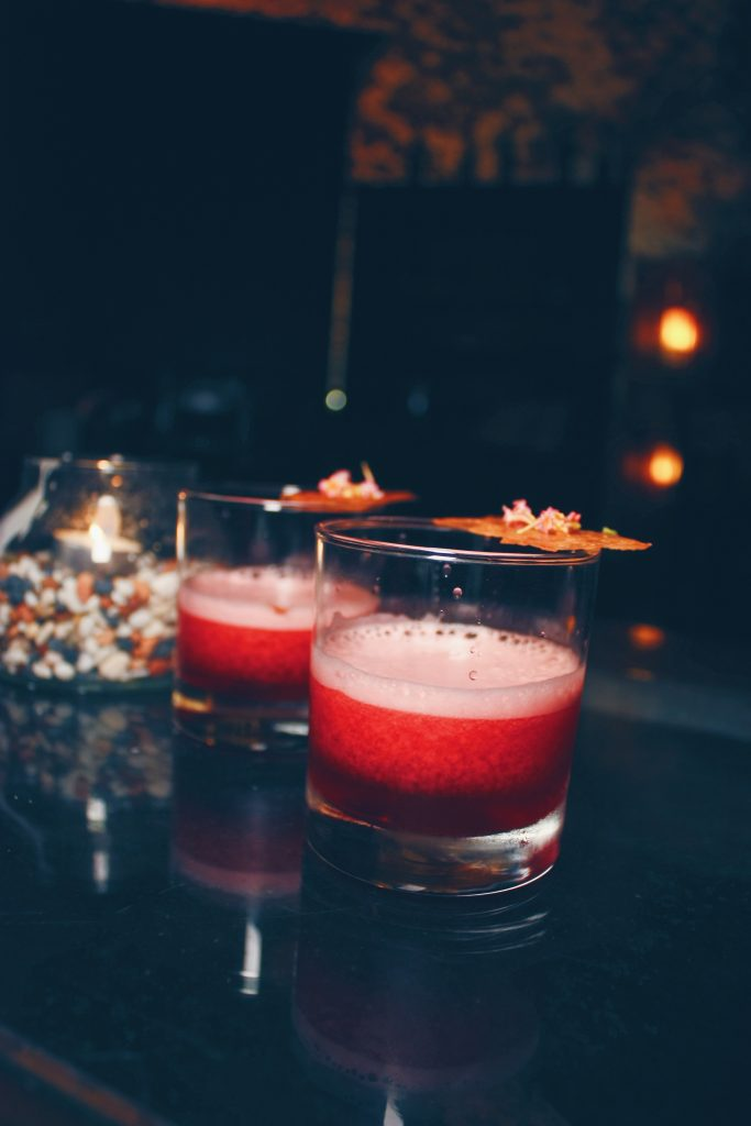 Lady In Red | DC Restaurant x Jeff's Cellar x Être | Food For Thought
