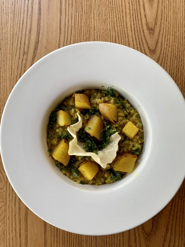 Lentil Risotto Rice | Gin Rik Sha | Food For Thought