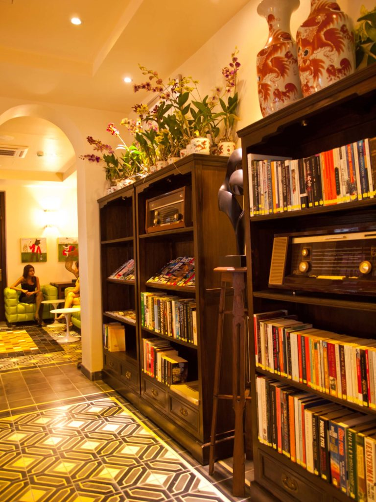 Library | Hotel Penaga | Food For Thought