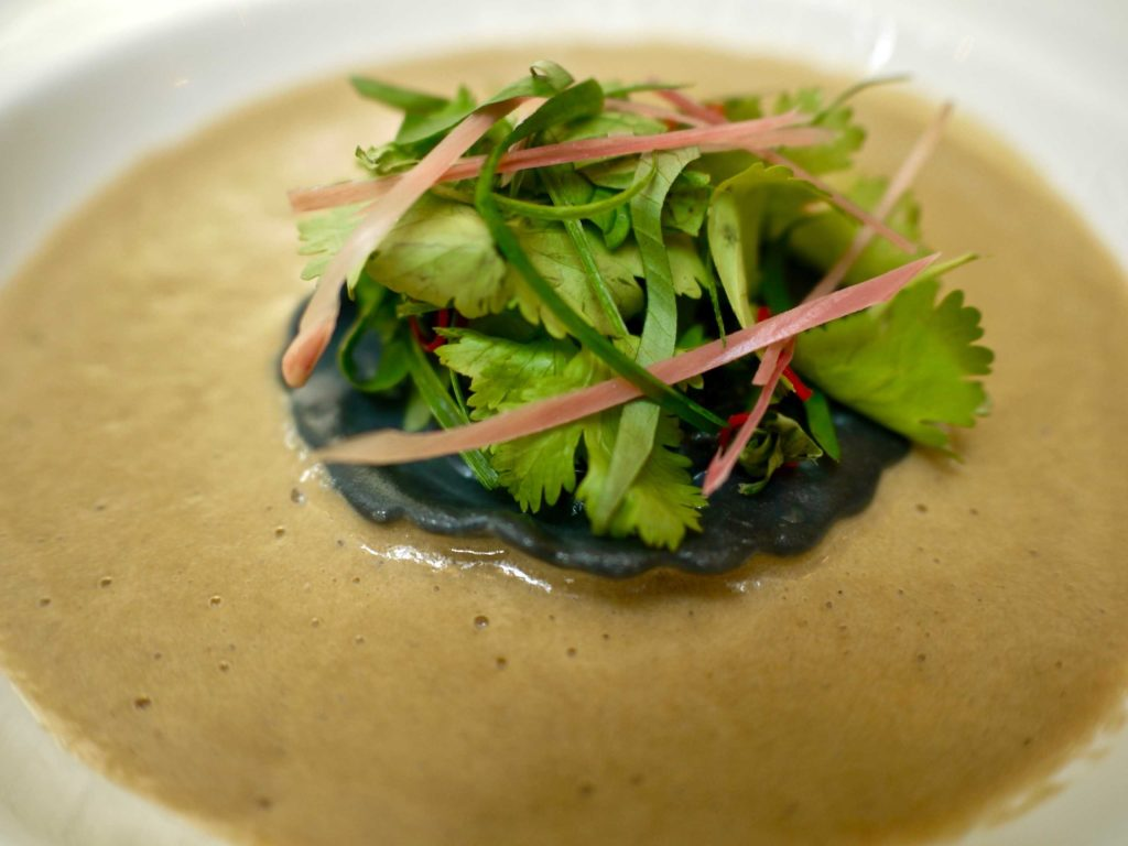 Lobster Cappuccino Asam Laksa | Skillet at 163 | Food For Thought
