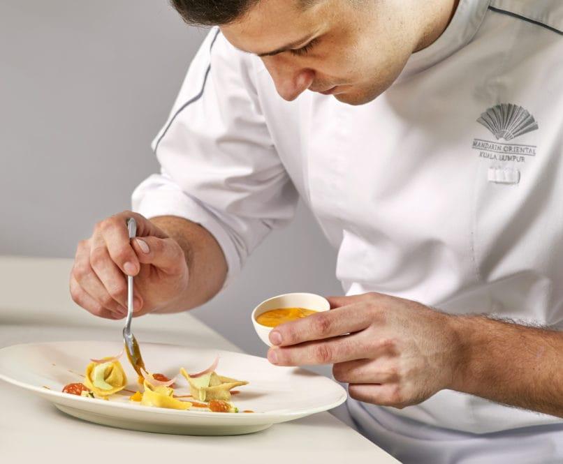 Luigi Stinga | Mandarin Grill | Food For Thought