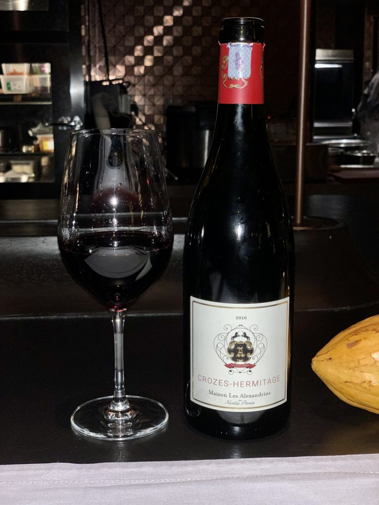 Maison Alexandrins 2016 Crozes-Hermitage Rouge | Long Bar at ATAS | Food For Thought