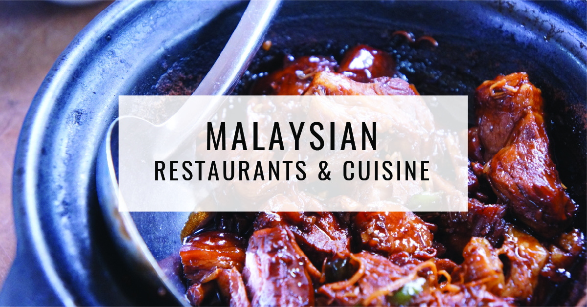 Malaysian Restaurants & Cuisine Title Card | Food For Thought