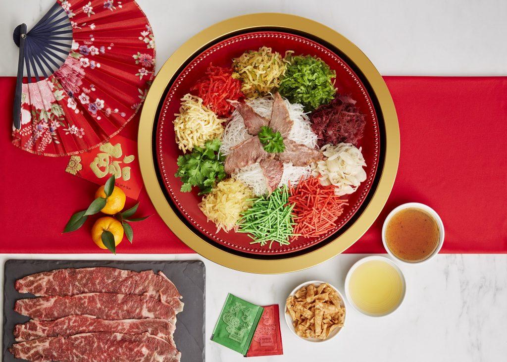 Mandarin Oriental Yee Sang, Kuala Lumpur | Four Points Chinatown | Yee Sang 2021 | Food For Thought