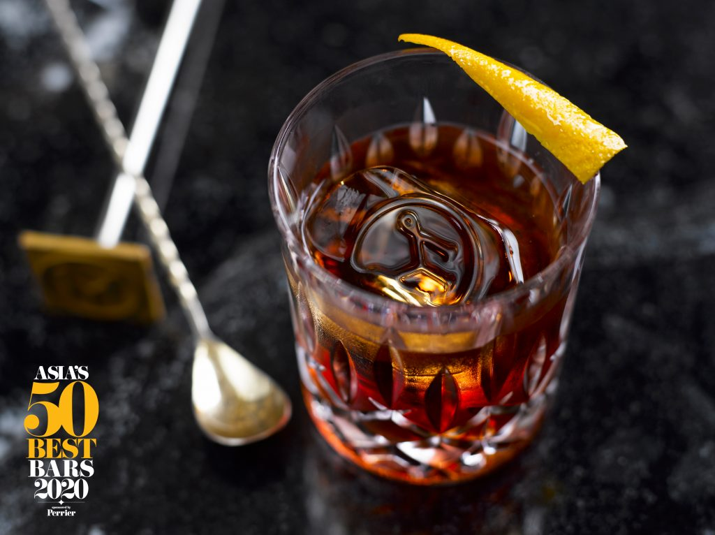 Manhattan Cocktail | Manhattan | Michter's Art of Hospitality Award | Asia's 50 Best Bars 2020 | Food For Thought