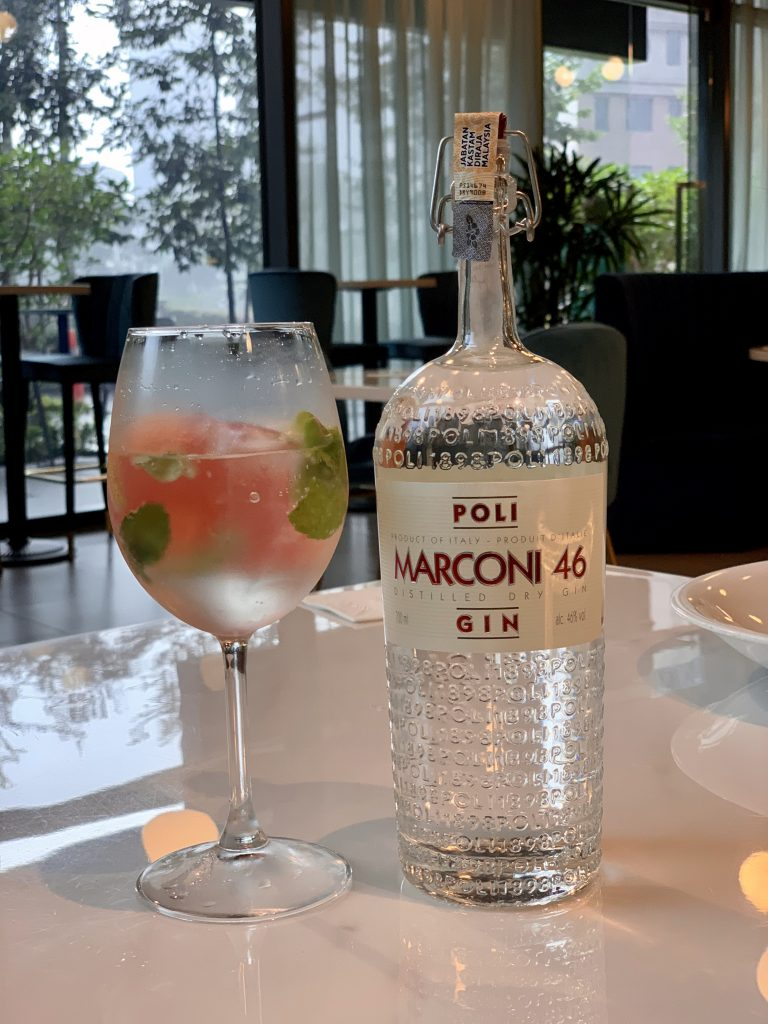 Marconi 46 Gin | Sossolino | Food For Thought
