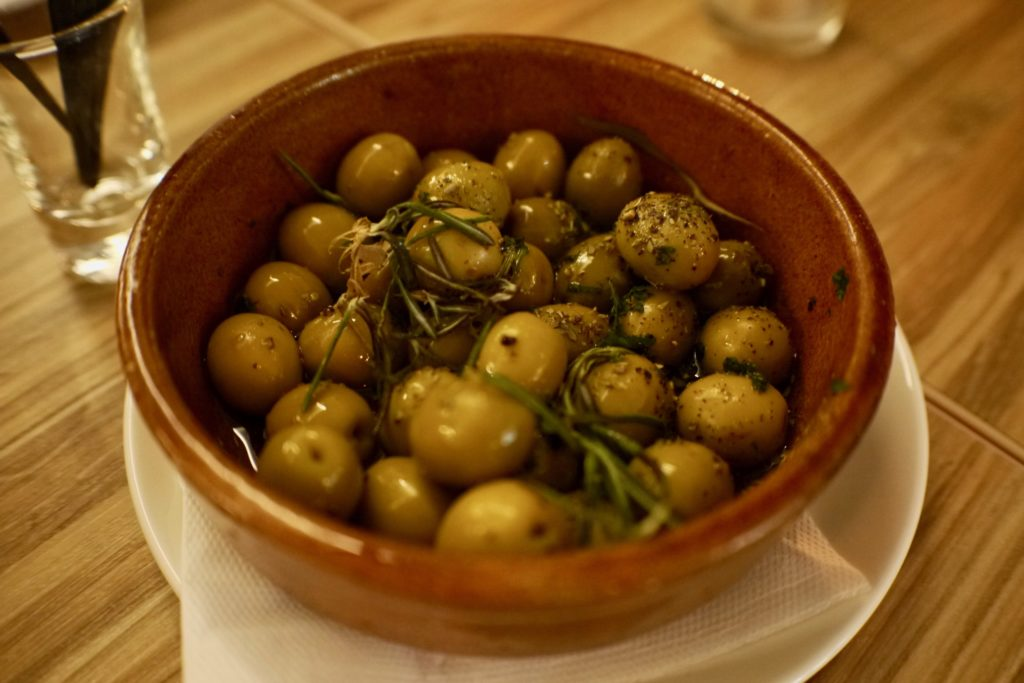 Marinated Green Olives | Sapore | Food For Thought