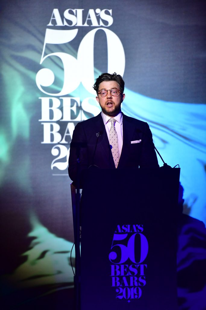 Mark Sansom, Content Editor for The World's 50 Best Bars | The Worlds 50 Best Bars 2020 | Food For Thought