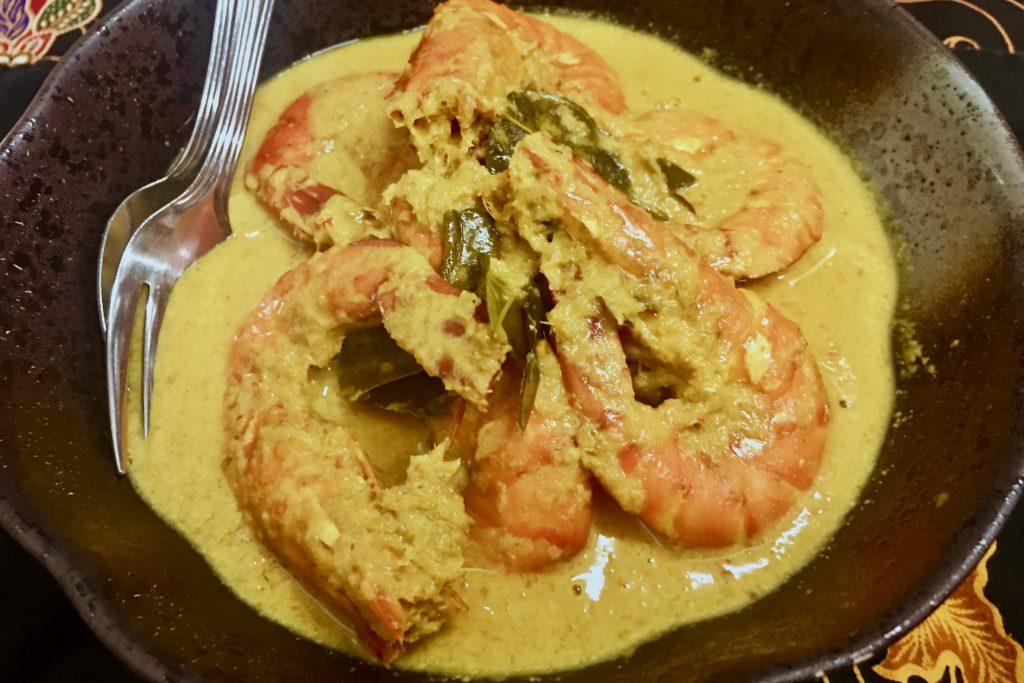 Masak Lemak Udang Dan Nanas | Prawns and Pineapple | Bijan Restaurant | Bijan Bar | Food For Thought