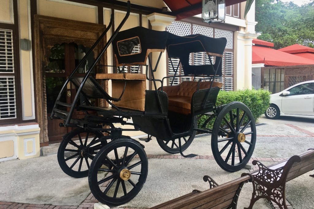 Mughal Horse Cart | JPM Rooms | Jawi Peranakan Mansion | Food For Thought