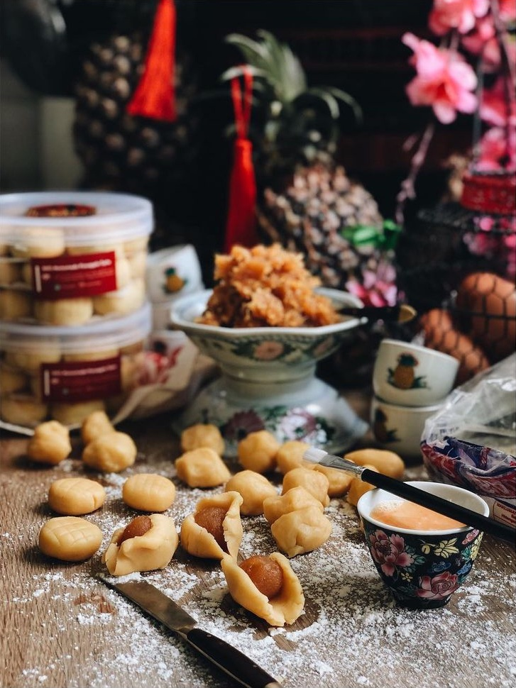 My Asian Kitchen Pineapple Tarts | The Year Of The Metal Ox - 12 Luxurious Offerings To Celebrate The Lunar New Year | Food For Thought