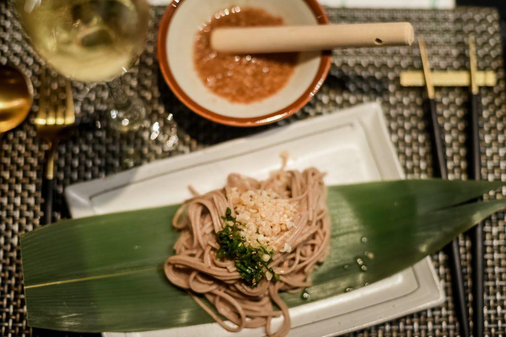 Nagano Walnut Soba | Babe - Japas Fun Dining | Food For Thought