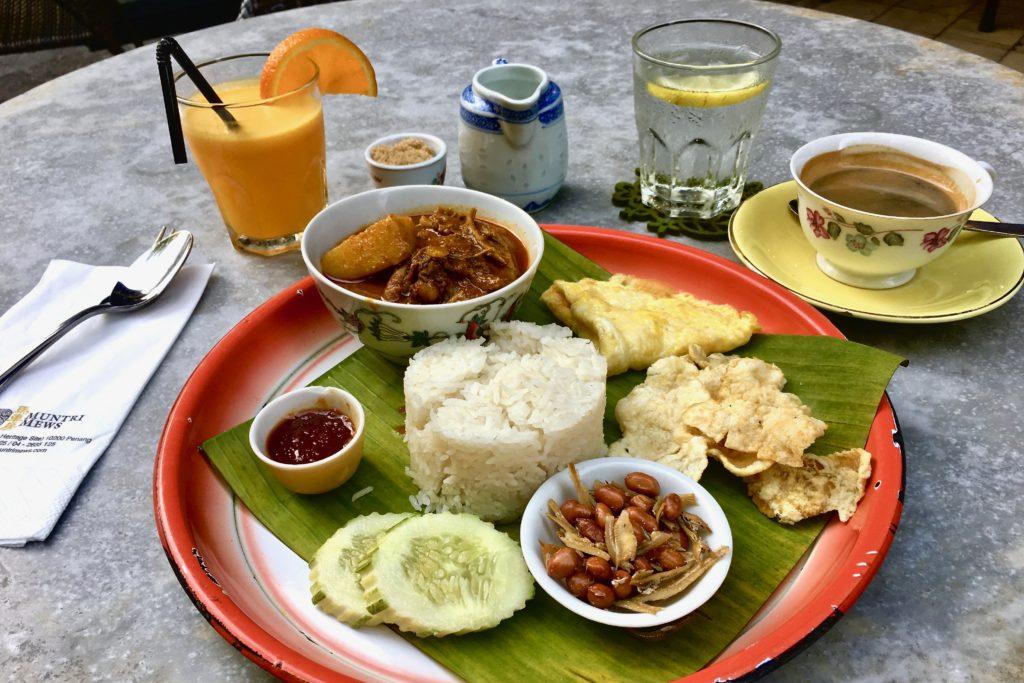 Nasi Lemak | Mews Cafe | Muntri Mews | Muntri Residence | Food For Thought