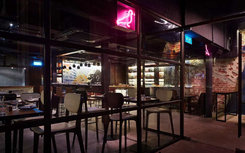 Neon Pigeon | Best Bars in Singapore 2019 | Food For Thought